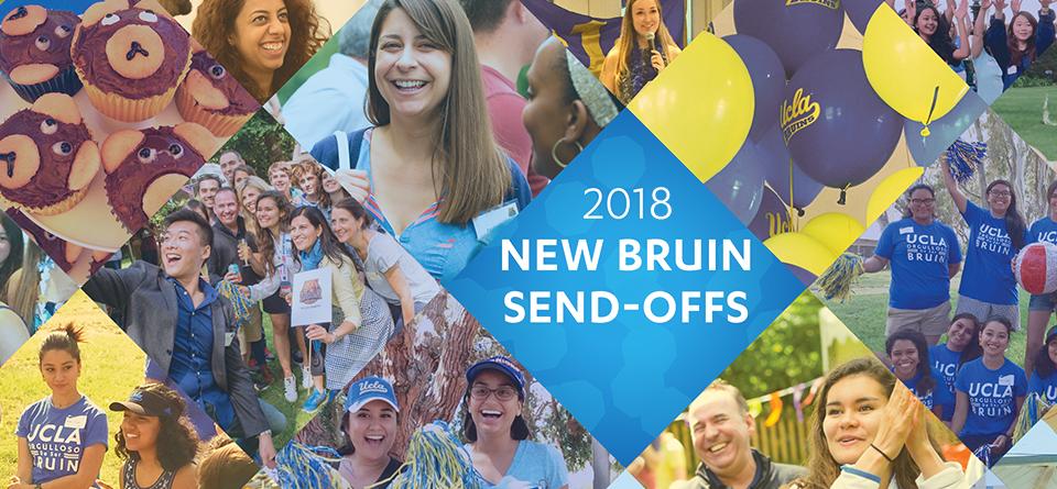 2018 New Bruin Send-Offs