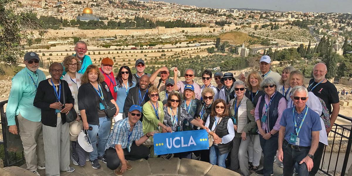 Travelers in Israel