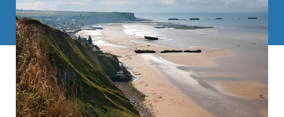 The Famed Shores of Normandy