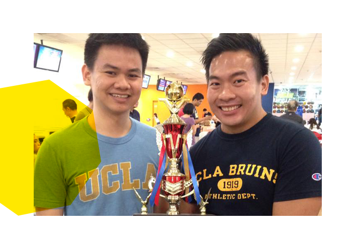 Singapore Network Bowling Trophy