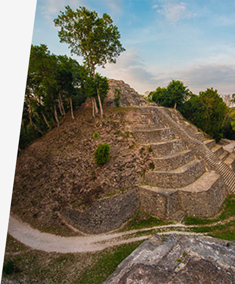 Pyramid in Belize