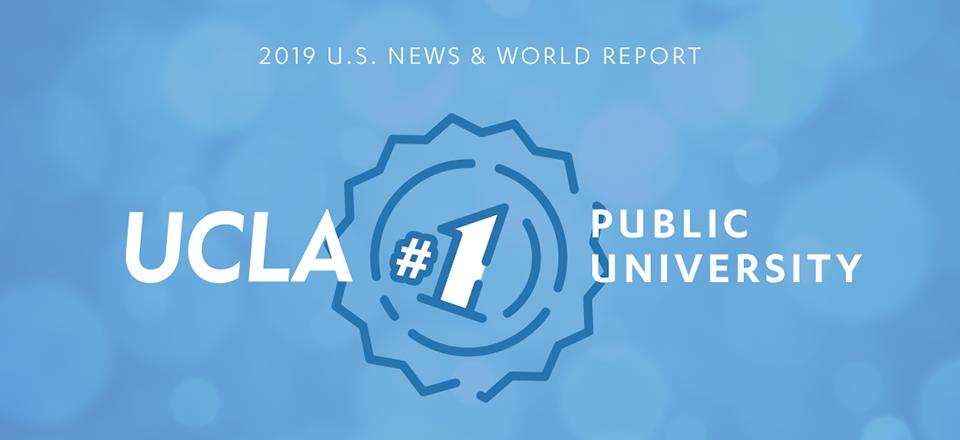 UCLA #1 Public University