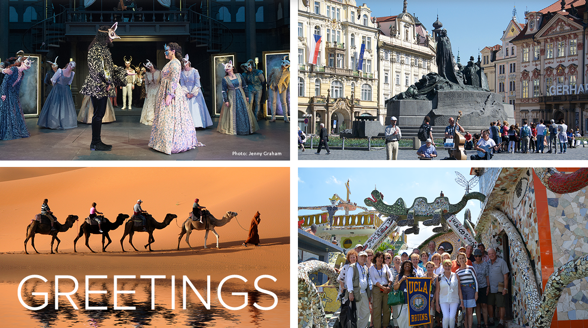 Romeo & Juliet, street musicians in Prague, travelers ride camels in the Sahara Desert, travelers in colorful Cuba
