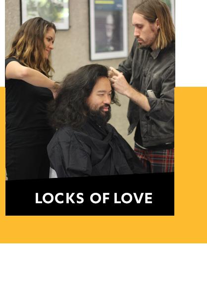 Locks of Love event