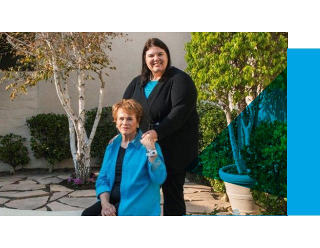 Jenn Carson and Sylvia Peterson