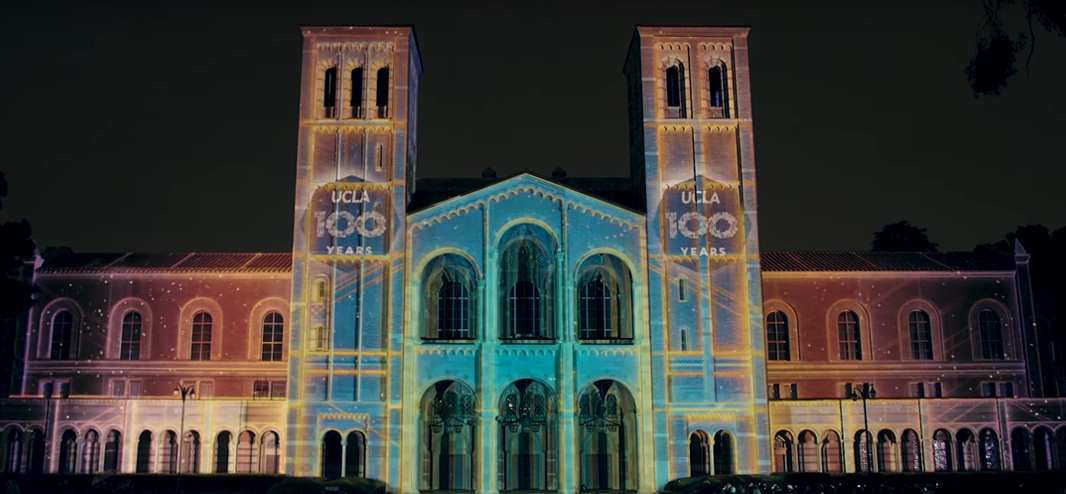 Lighting the Way Projection Show