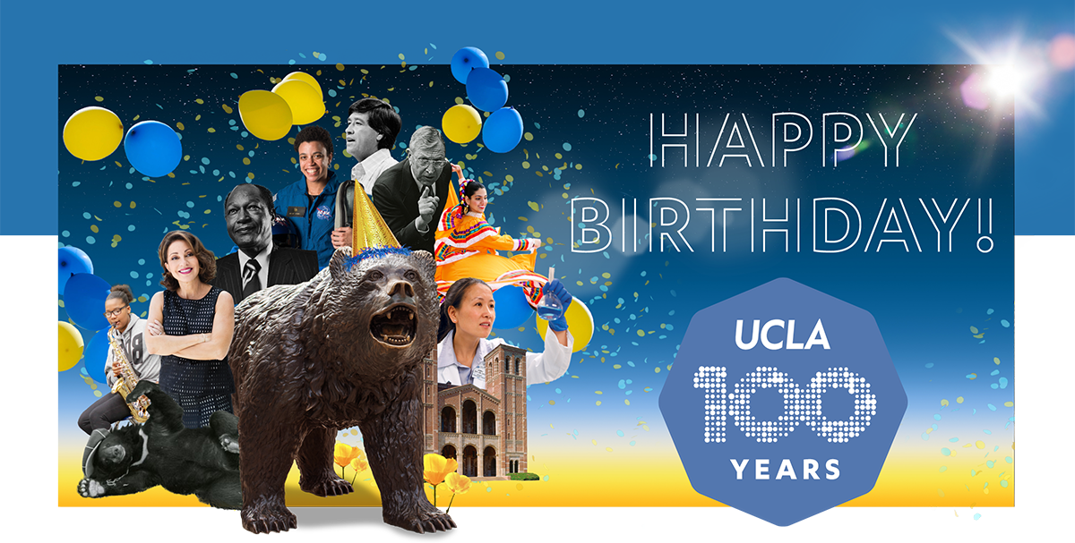 Happy Birthday UCLA
