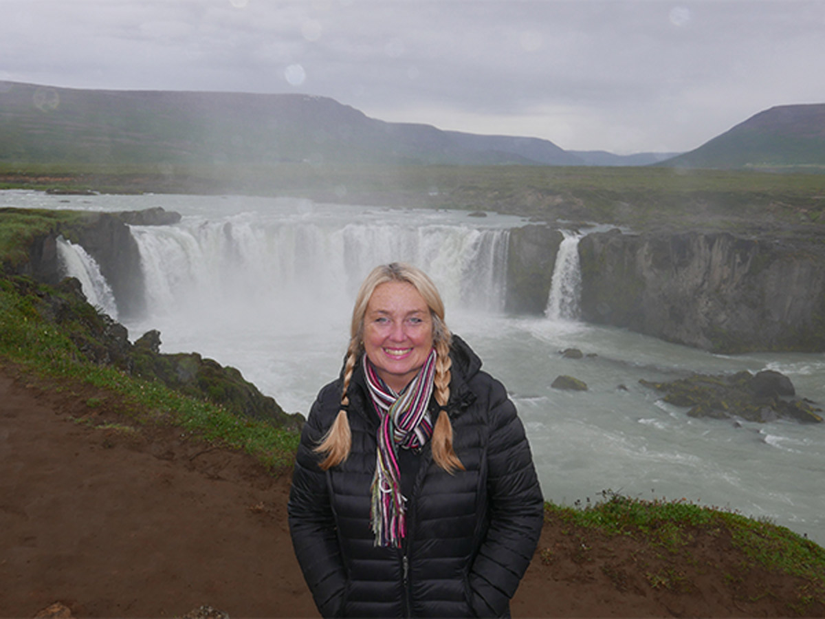 Christel in Iceland