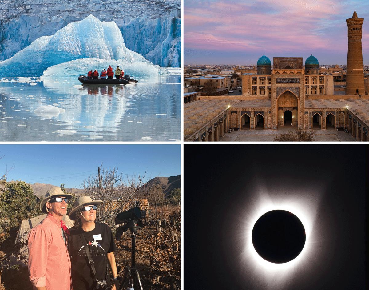 Total Solar Eclipse, Wild Alaska Escape, Central Asia Silk Road