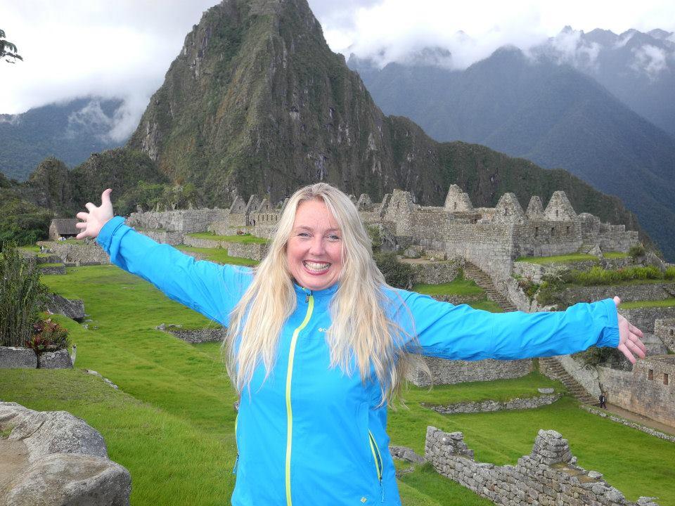 Christel in Machu Picchu