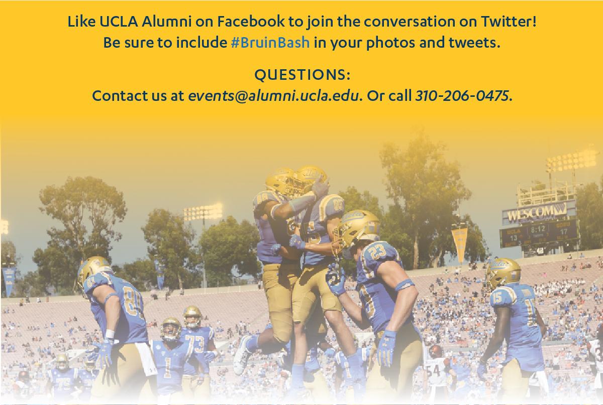 Contact us at events@alumni.ucla.edu. Or call 310-206-0475