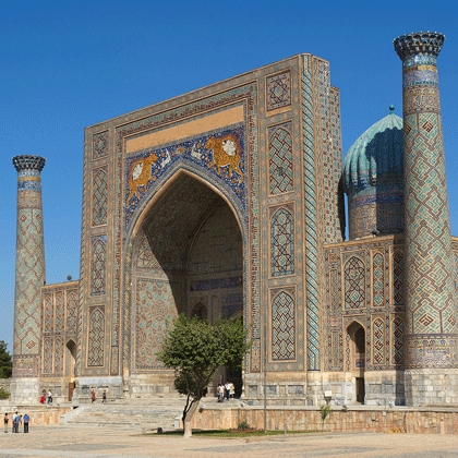 Along Central Asia's Silk Road
