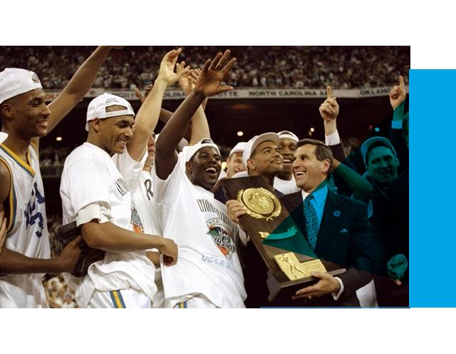 1995 Men's Basketball Championship team
