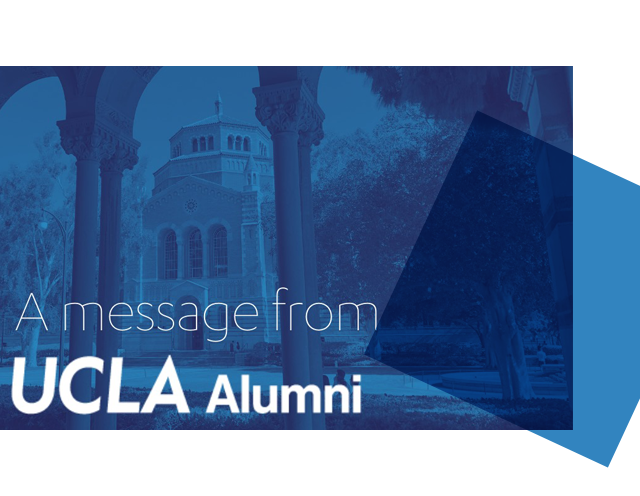 A Message from UCLA Alumni