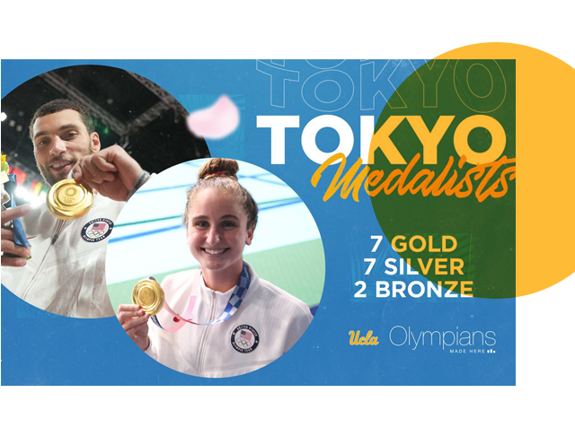 Bruins Olympic Medalists